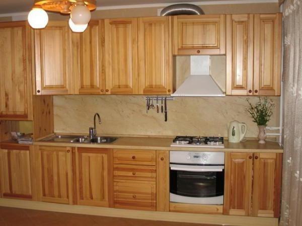 set de bucătărie din lemn cu mâinile proprii