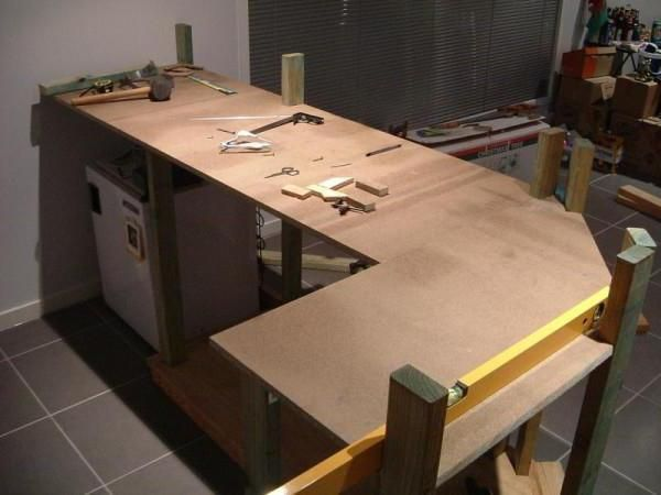 bucătărie set de lemn cu mâinile proprii fotografie