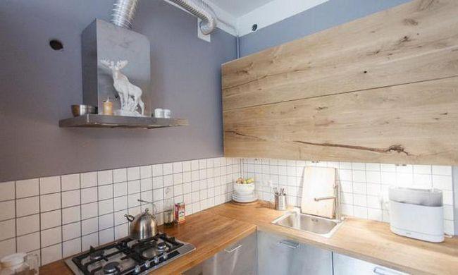 seturi de bucătărie din lemn masiv