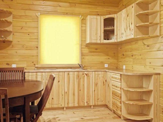 bucătărie setată sub fotografie copac