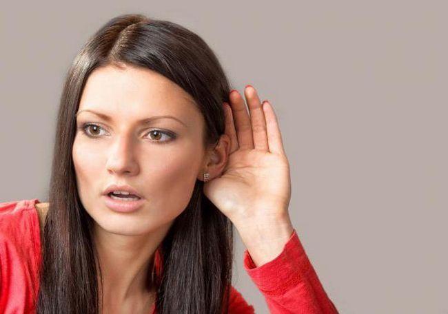 Tratamentul tulburărilor senzoriale de pierdere a auzului