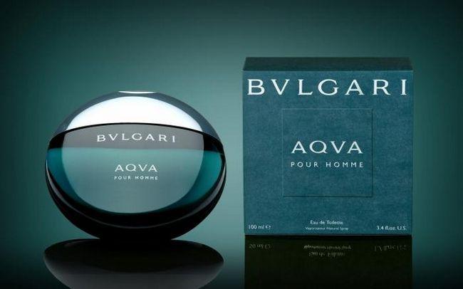Summer breeze și se răcește cu Bvlgari `Aqua`