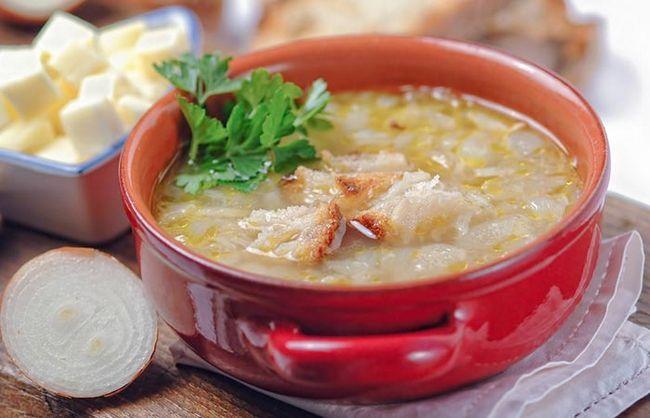 supa de ceapa pentru pierderea in greutate