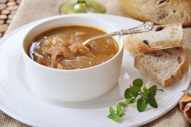 gustoase supa de ceapa