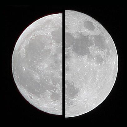 lună în creștere