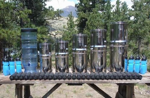 Filtre de trunchi pentru purificarea apei