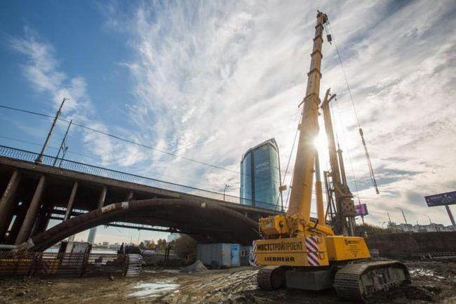 Podul Makarov din Ekaterinburg