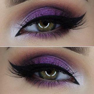 make-up pentru ochi verzi sub rochie rosie