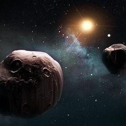 Planeta mică - un asteroid