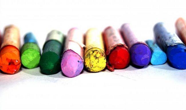 Pastel creioane colorate