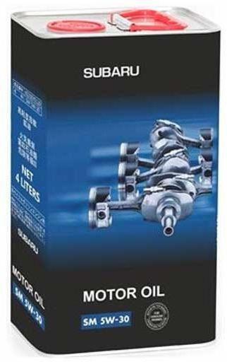 Ulei `Subaru`: recenzie, caracteristici. Subaru Motor Oil SM 5W30