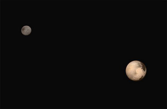 planeta pluto fotografie