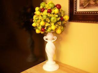 topiary din clasa maestru de fructe