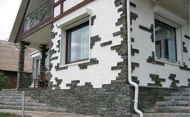 materiale de finisare a fațadelor