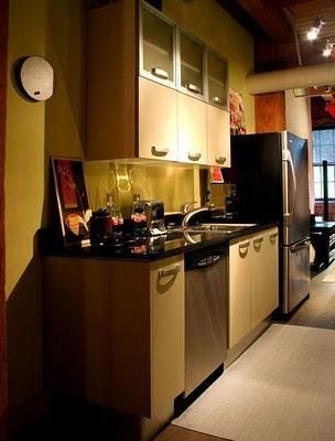 mobilier de bucatarie pentru o bucatarie mica
