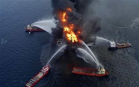 Golful Mexic - dezastru ecologic al secolului XXI