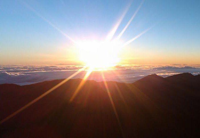 unde soarele se ridică și se fixează