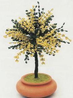 mimoza de clasa maestrilor de margele
