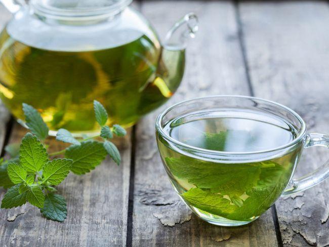 menta ceai