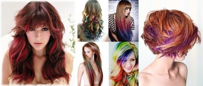 colorarea părului întunecat 2013