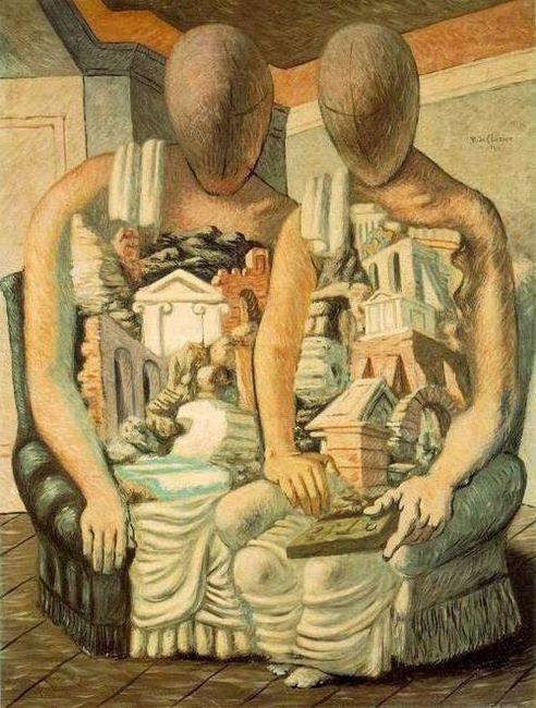 Genul de modă în artă: pictură metafizică, poezie și fotografie
