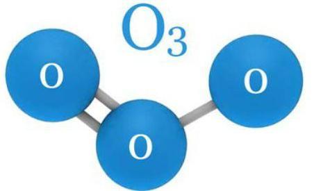 molecula de ozon