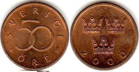 monede din Suedia fotografie