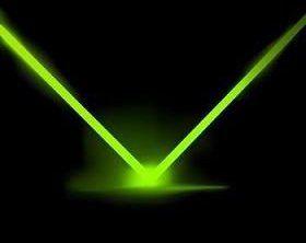 fascicul de lumină monocromatică