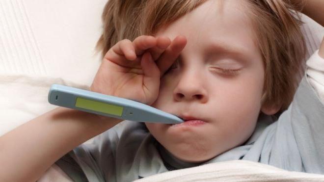 mononucleoza în cazul simptomelor copilului