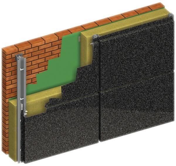 instalarea unei fatade ventilate din panouri compozite din aluminiu