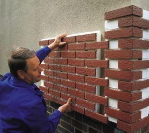 instalarea termopanelor de fațadă din clincher