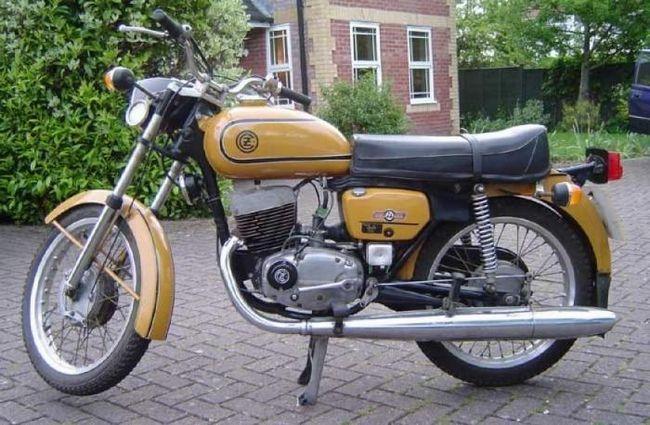 новый мотоцикл чезет