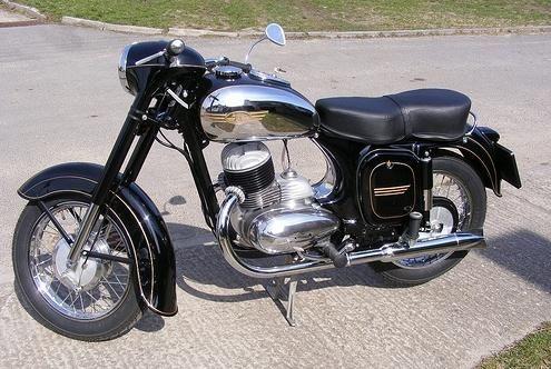 Motocicleta Java-250 este un miracol ceh