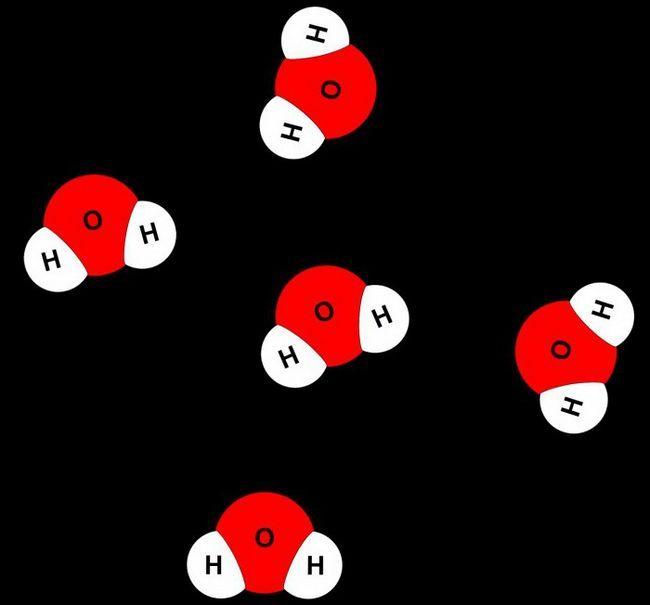 pe care atomii molecula de apă a fizicii este împărțită