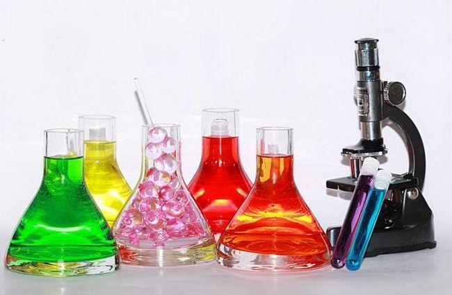 reacții chimice cu apă