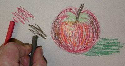 Pentru un artist: cum să desenezi un pastel