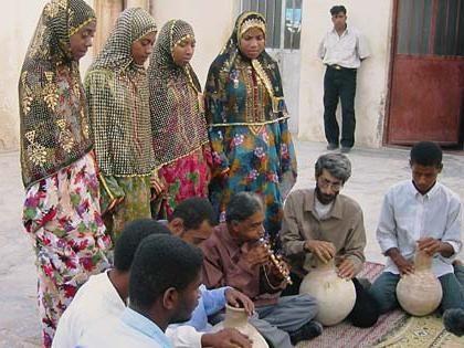 populației din Iran