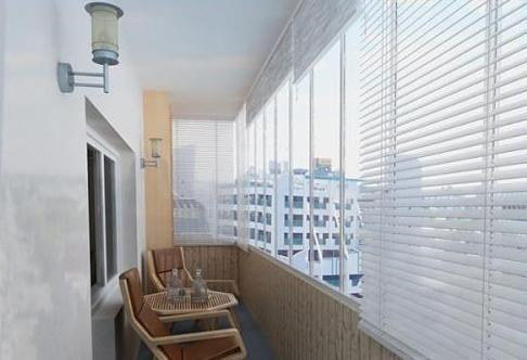 cum să tăiați un balcon cu panouri din plastic