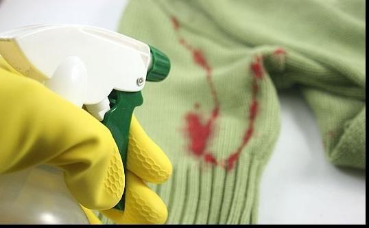 Cum să spălați sângele de pe haine
