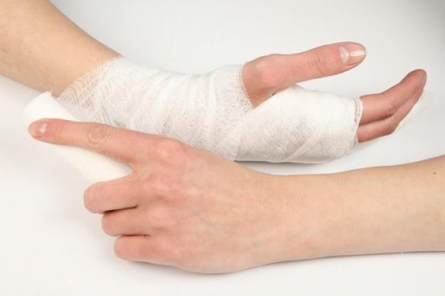 brațul fracturii cu deplasare