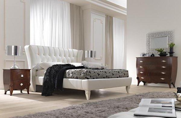 неоклассицизм в интерьере спальни