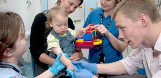 test de sânge general la copii