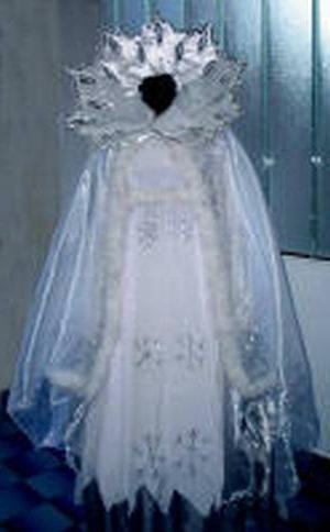 Atelier de Anul Nou la domiciliu: costum de zăpadă