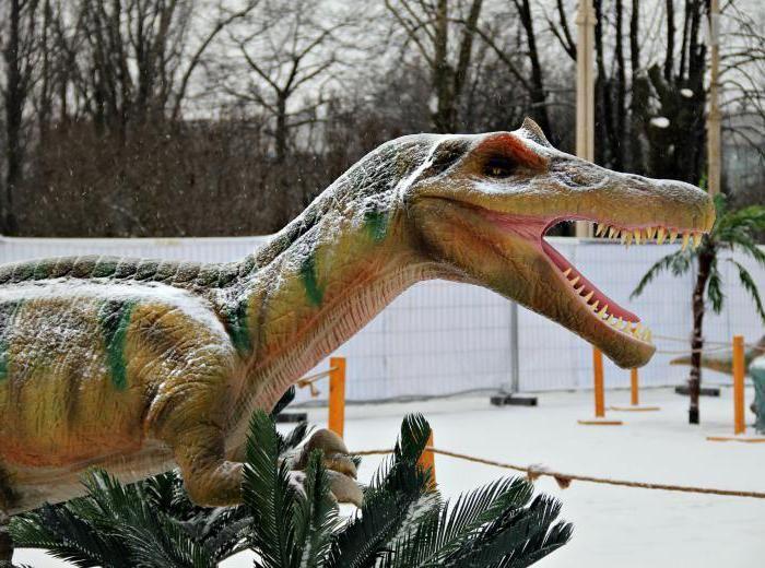 dinozaur parc în moscow