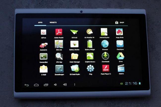 Noua tabletă Hyundai a7hd