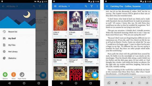 citind cărți despre Android