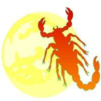 luna în scorpion