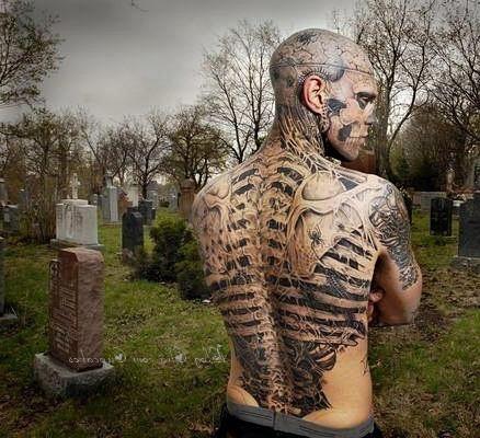 О том, как сделать временную татуировку самостоятельно