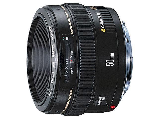 Obiectiv canon de 50 mm