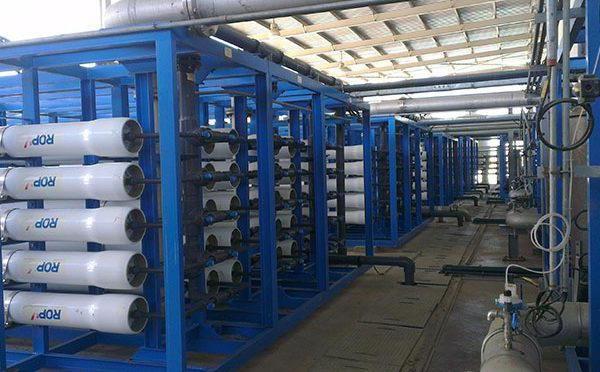 instalații de desalinizare a apei